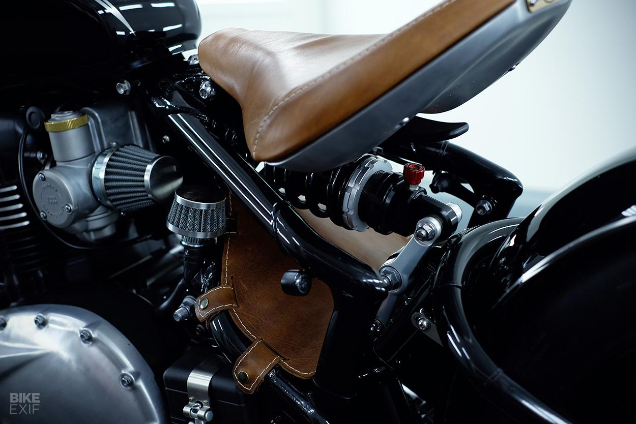 Triumph Bonneville Bobber custom by BAAK