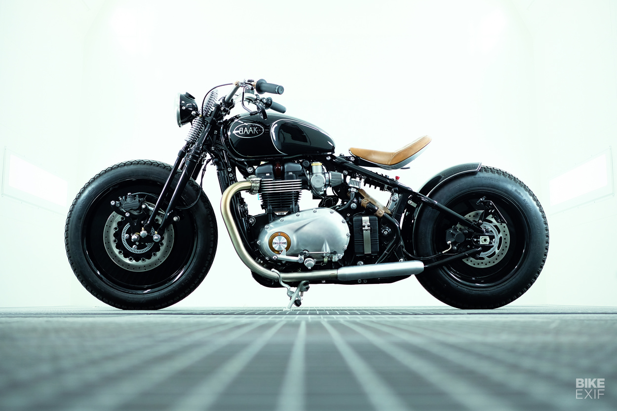 Triumph Bobber On Bike Exif