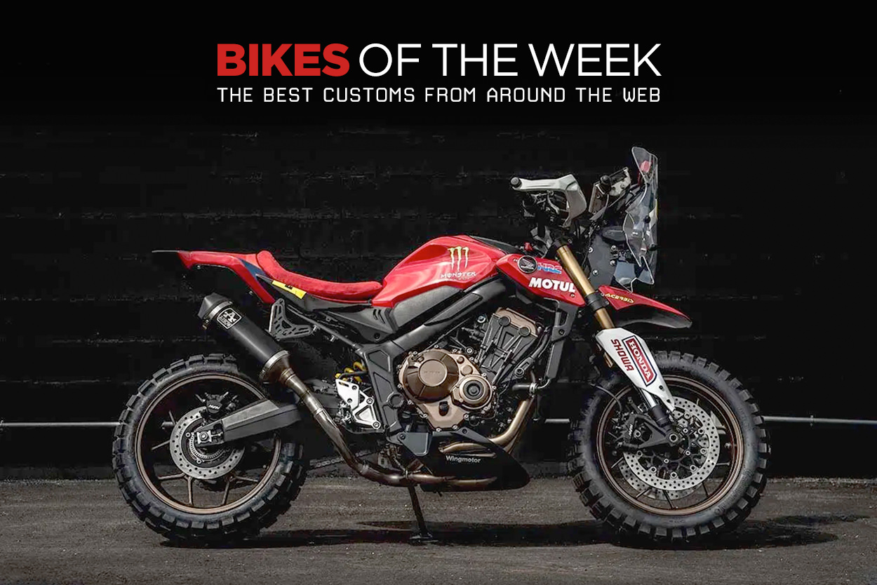The best scramblers, custom sportbikes and low production motorcycles from around the web