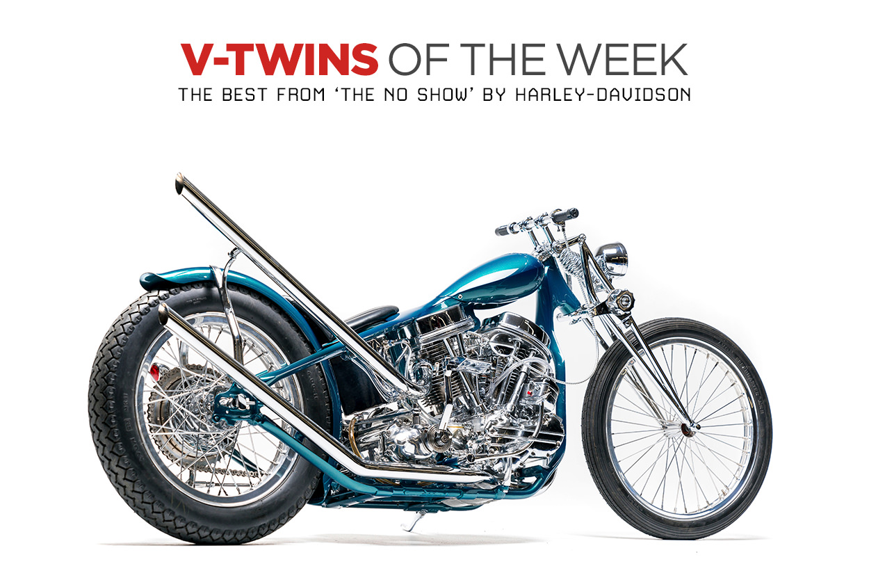 Best of The No Show Harley-Davidson customs