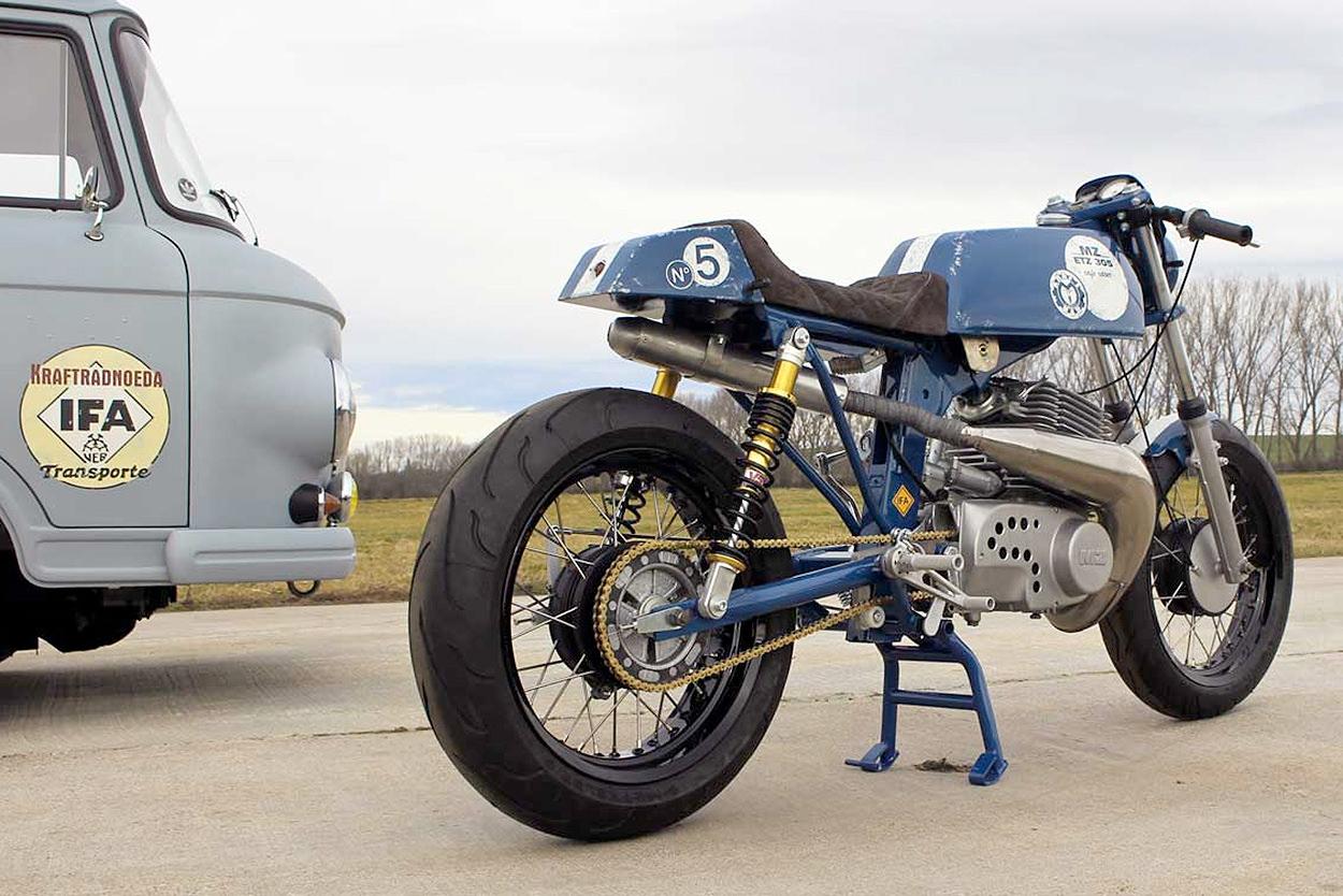 Custom MZ ETZ 250 by Kraftrad Noeda