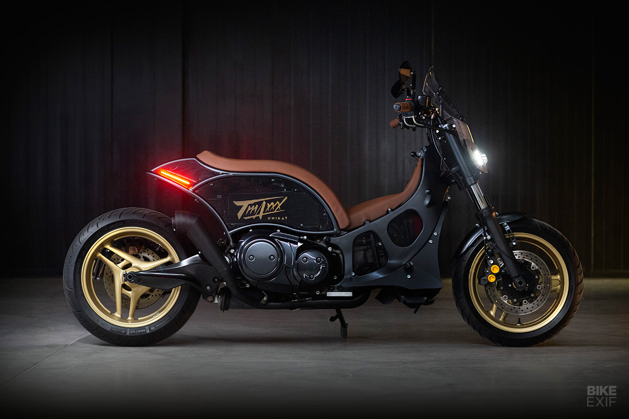 Custom Yamaha TMAX XP500 by Unikat Motorworks