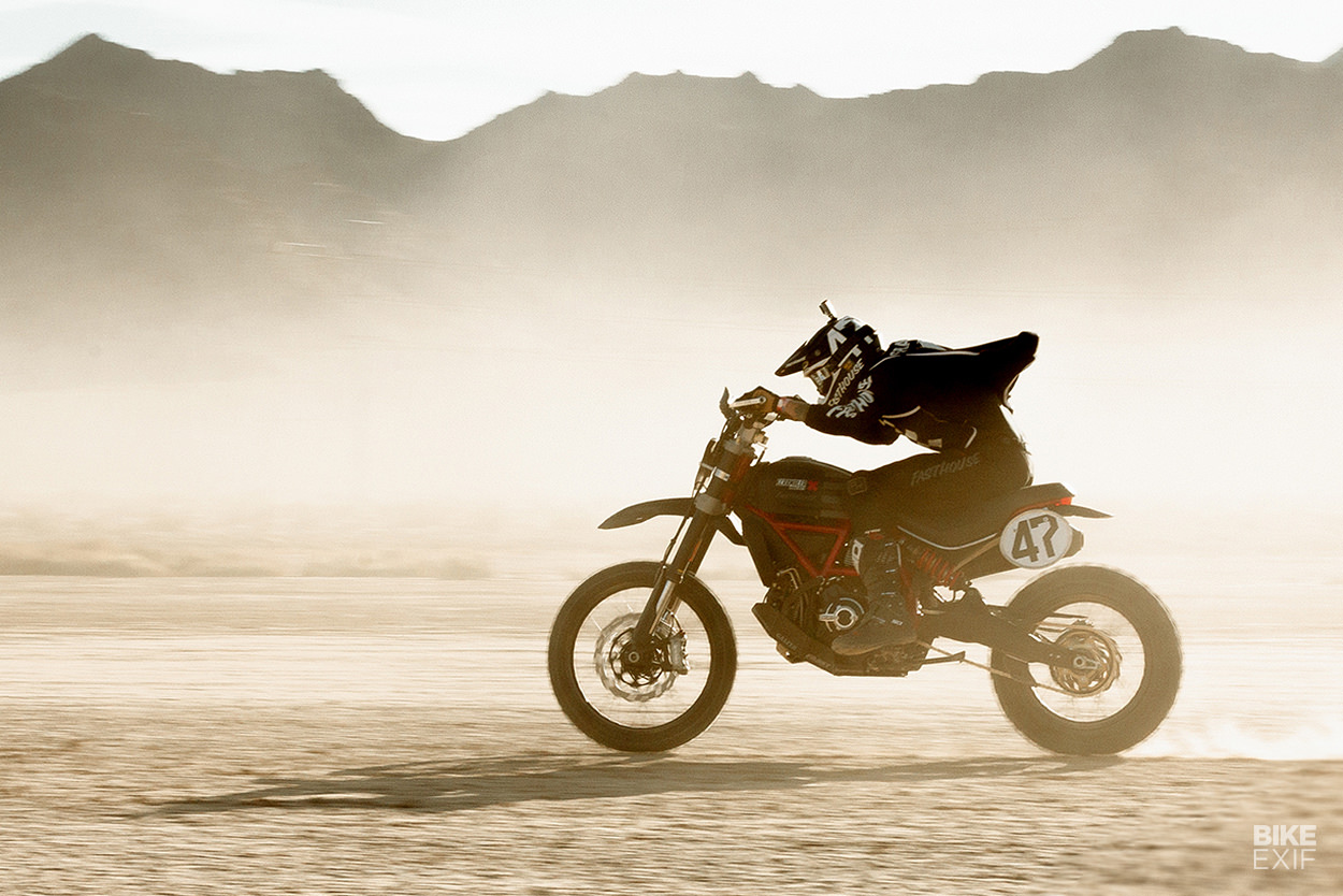Ducati Desert Sled build: the Fasthouse scramblers that won the Mint 400