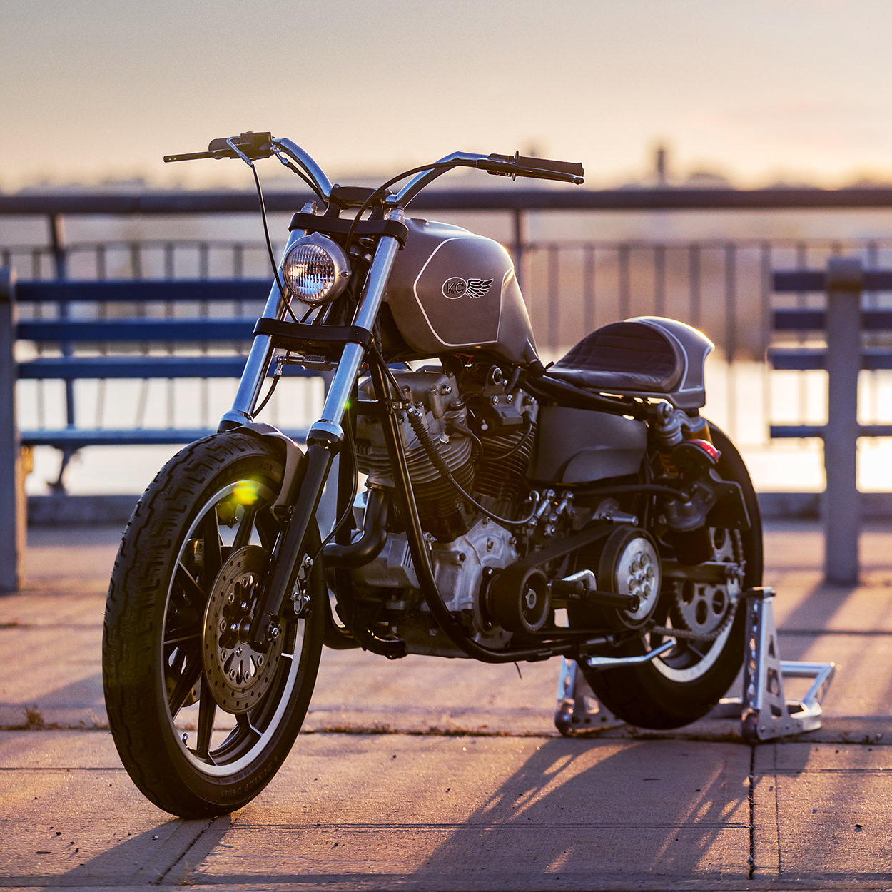 Harley-Davidson Shovelhead by Keino Cycles