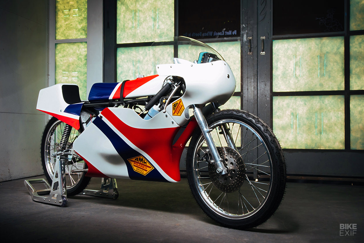 1975 Minarelli 50 GP racing motorcycle