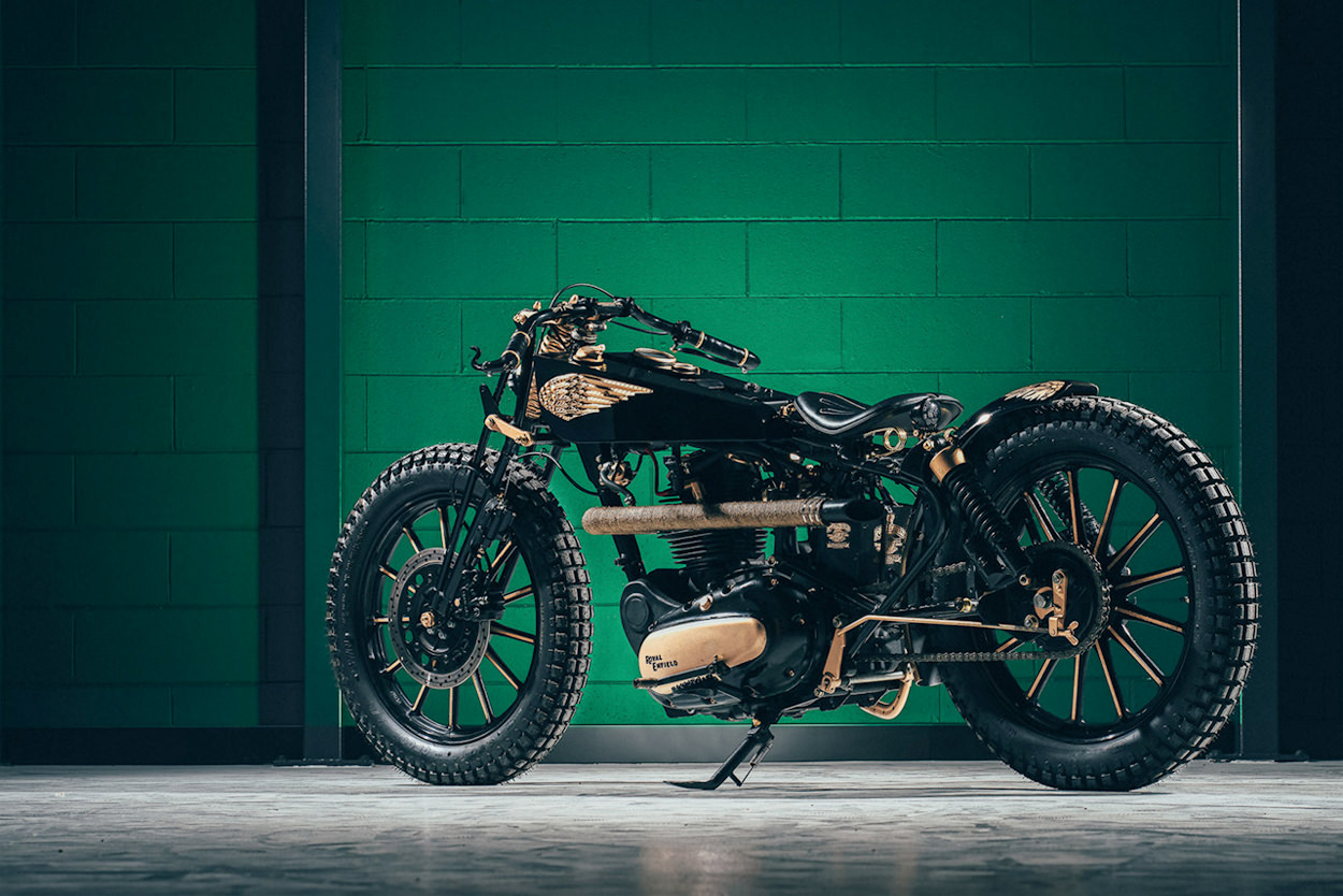 Royal Enfield Bullet 500 boardtracker by GDesign
