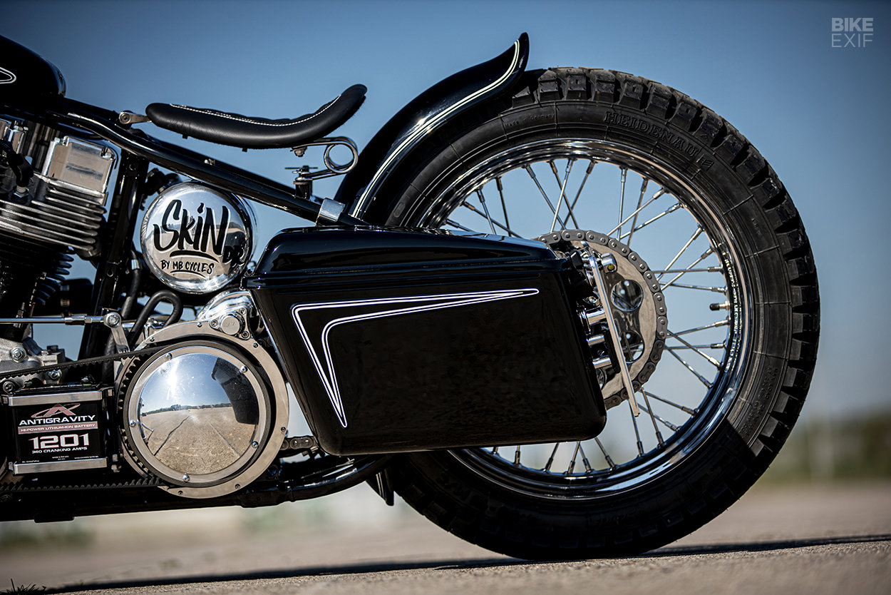 Dr. Skin: An S&S-powered bobber by MB Cycles