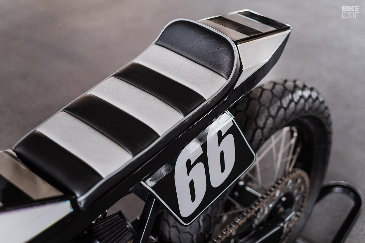 Yamaha WR400 flat tracker by AMP Motorcycles