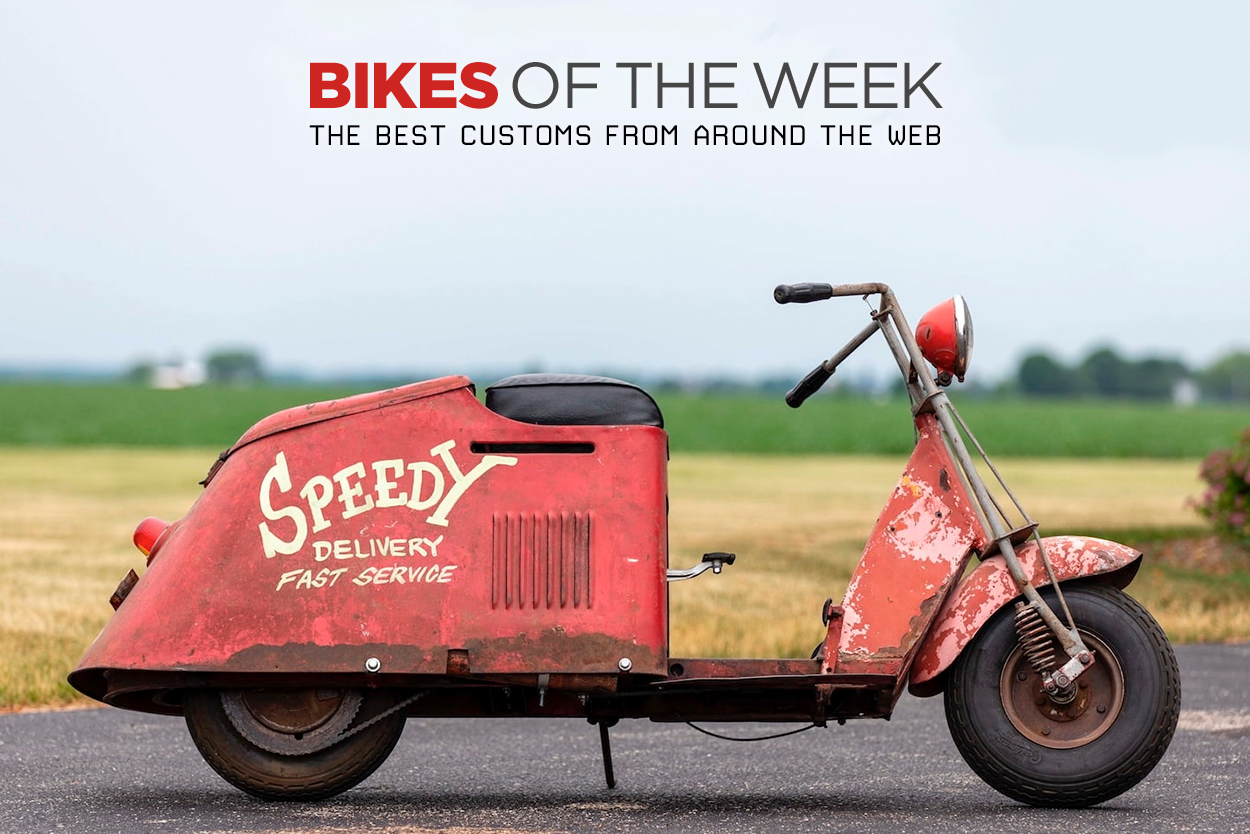 The best scooters, restomods and custom enduros from around the web