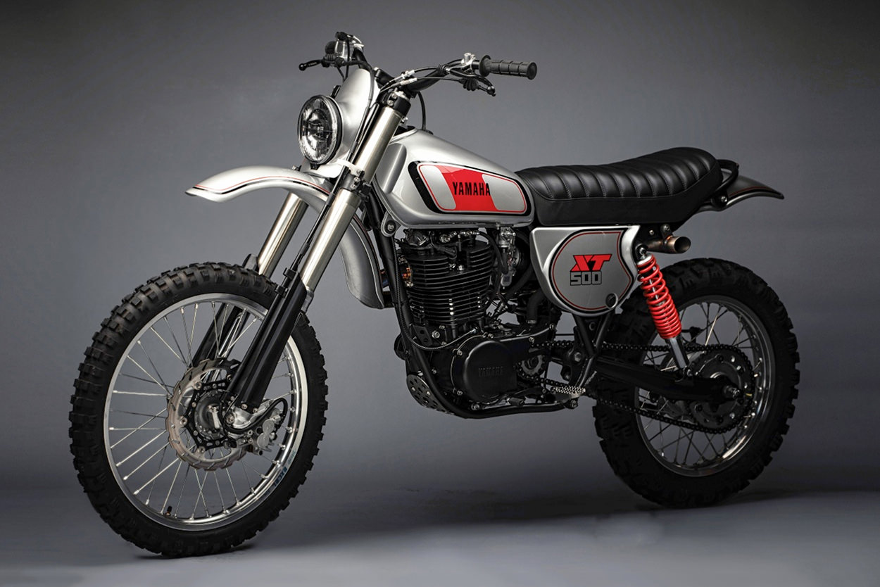 Yamaha XT500 restomod by MotoRelic