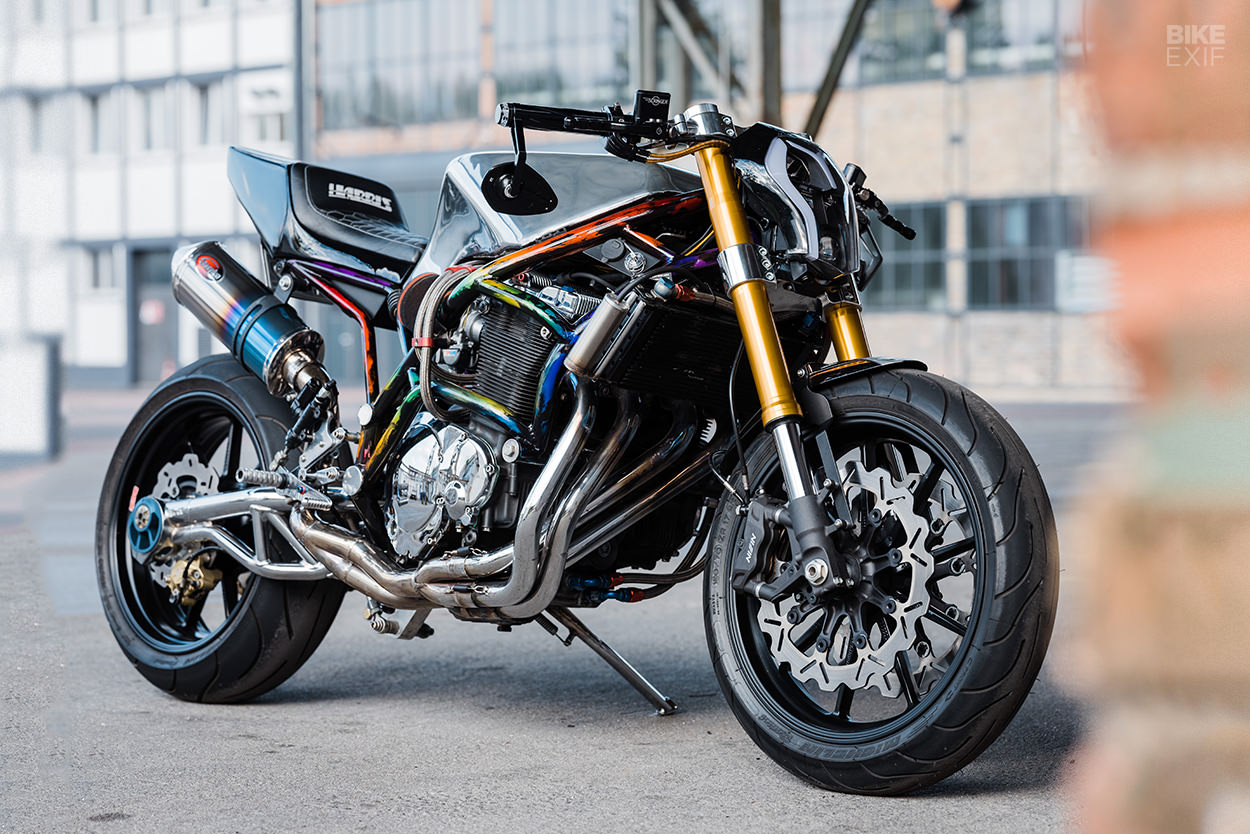 Harris Magnum 4 streetfighter motorcycle