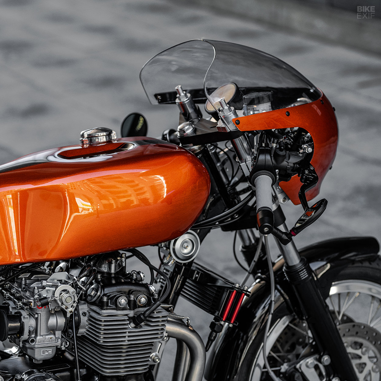 Honda CB400F cafe racer by Ripple Rock Racers