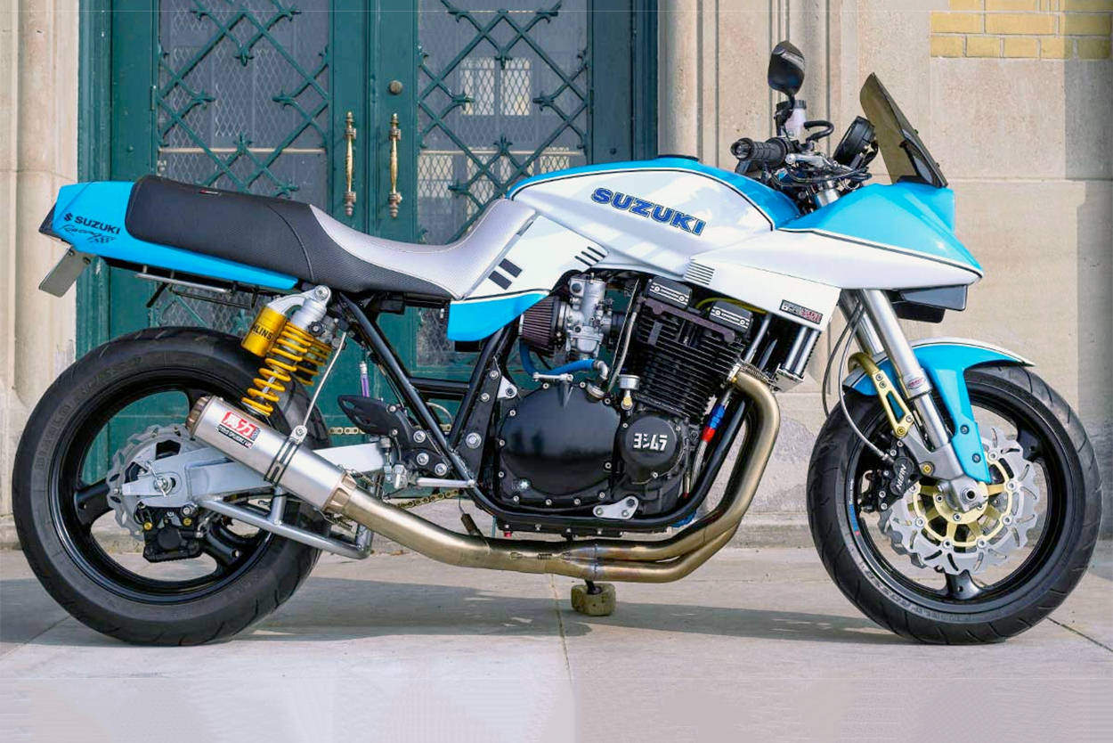 Suzuki Katana restomod by VSB Moto