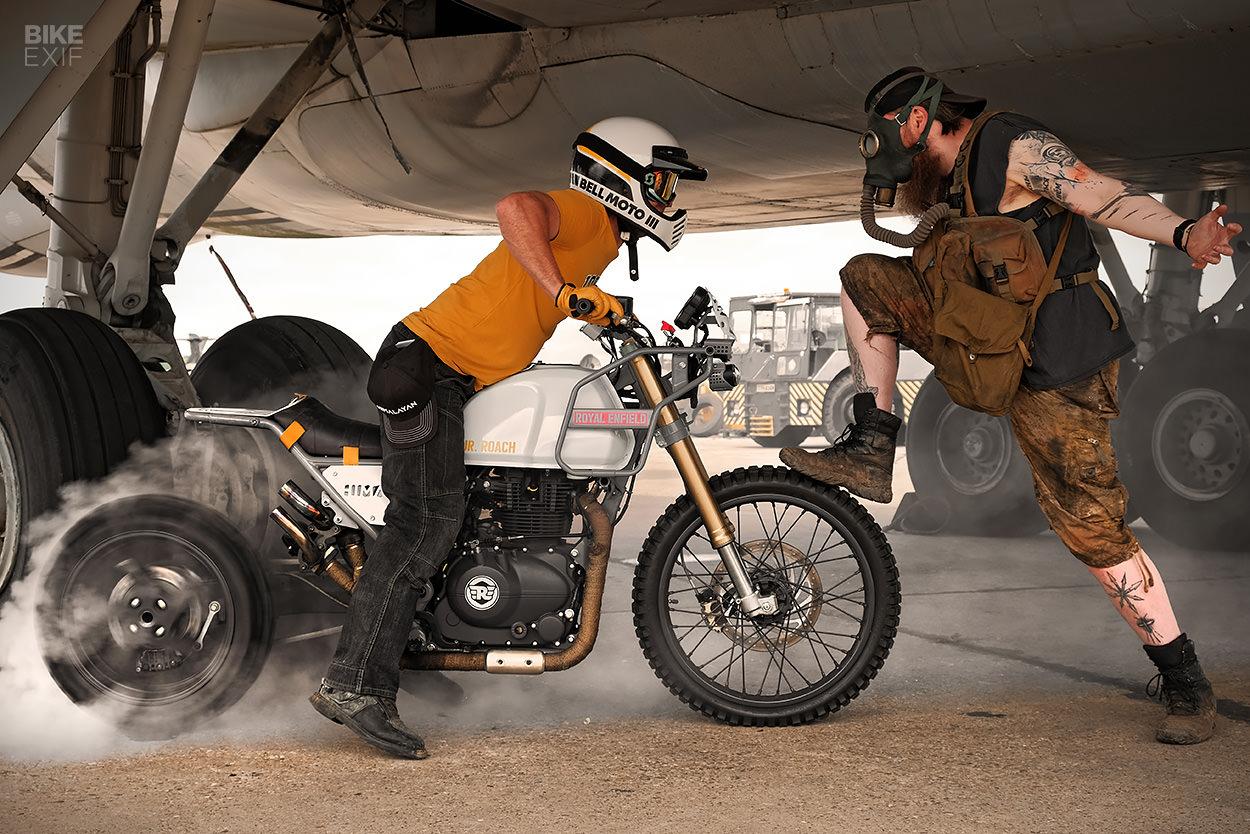Mjr Roach A Turbocharged Royal Enfield Himalayan Bike Exif