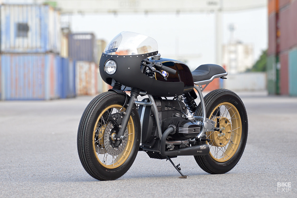 BMW R100 RS cafe racer by WalzWerk