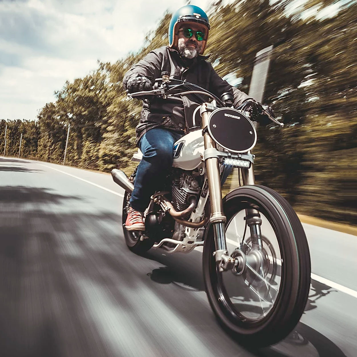 Yamaha TT600RE tracker by Motorieep