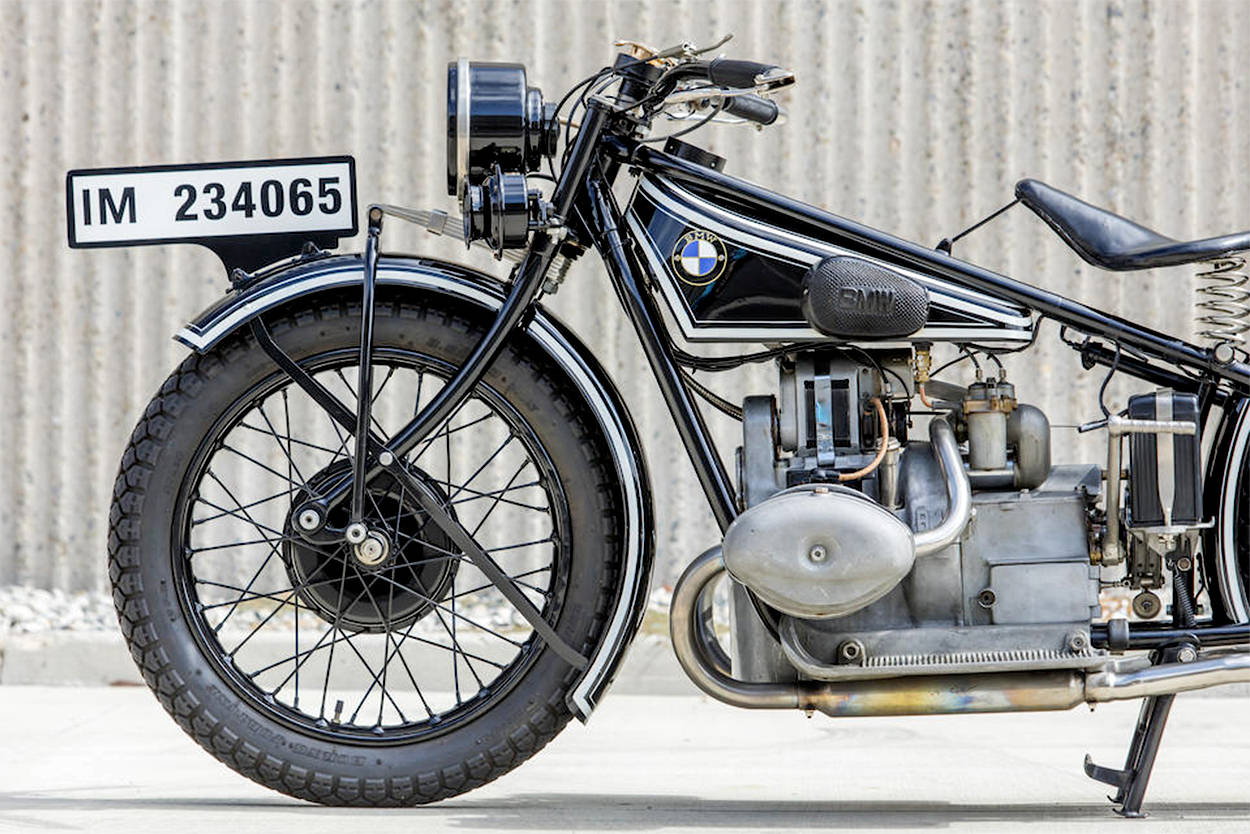 1928 BMW R57 up for auction