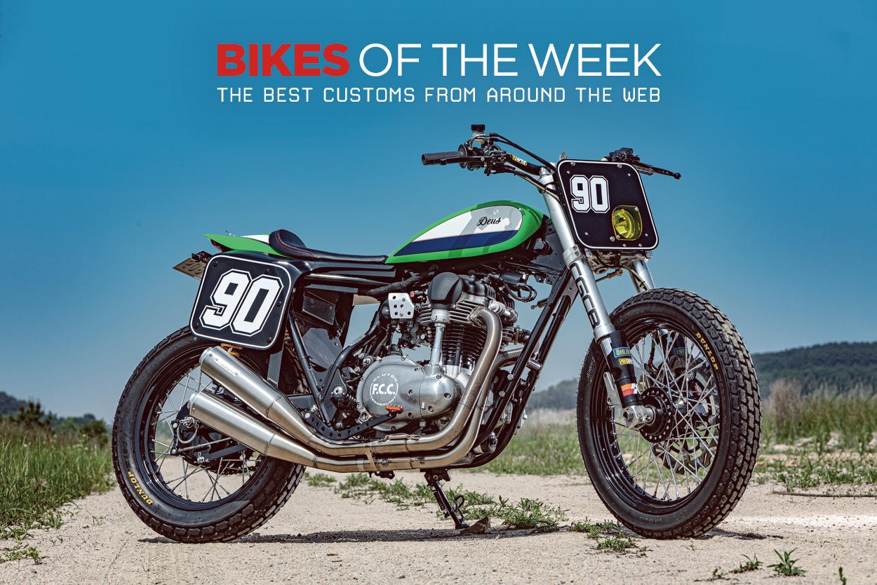 The best cafe racers, classics and hill climbers from around the web