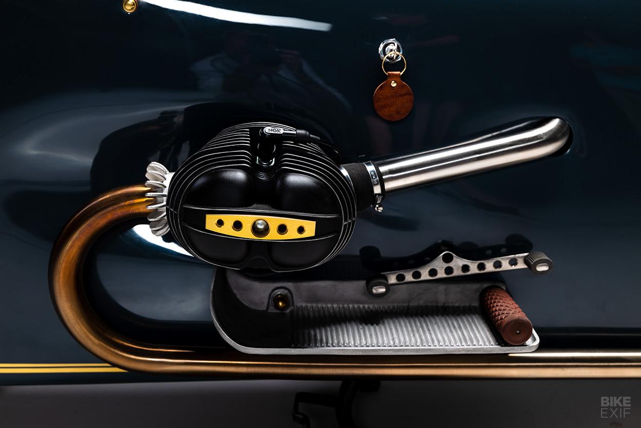 BMW art deco motorcycle by Kingston Custom