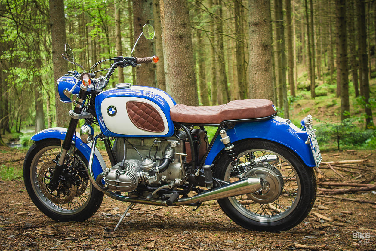 BMW R60/5 restomod by Woidwerk Bavarian Gentlebikes