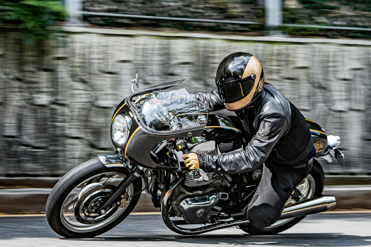 Royal Enfield Continental GT 650 by Jake Yang of Motorbike Magazine in Korea