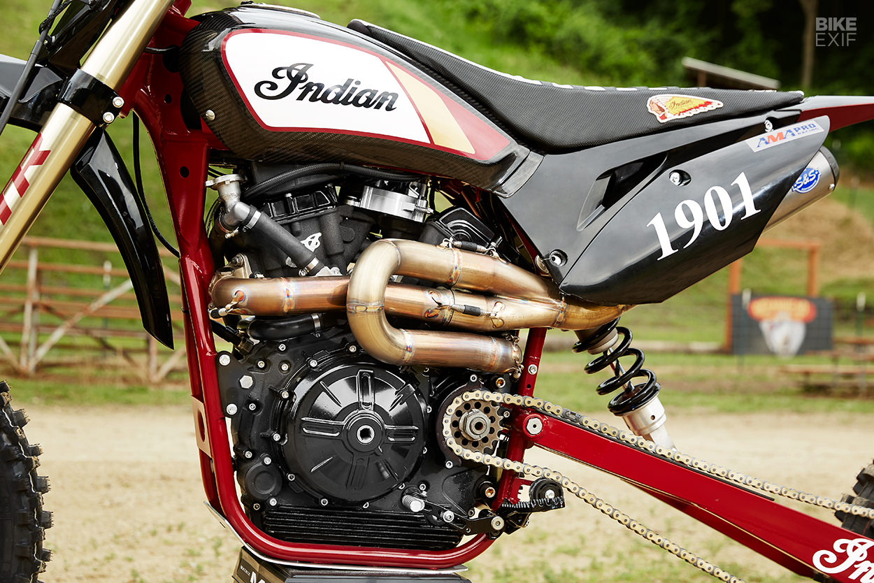 Custom Indian FTR750 hillclimb Motorcycle