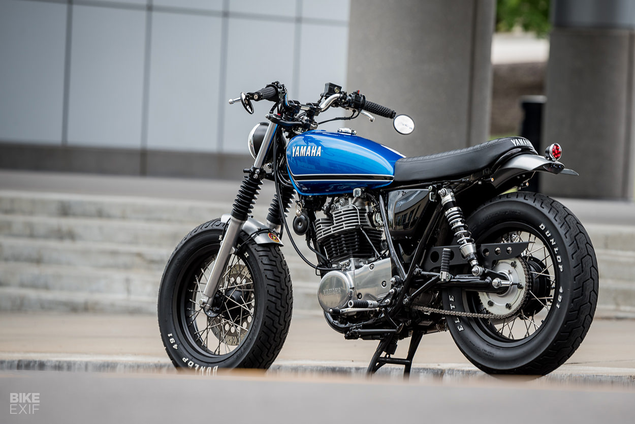 Fat SR: A Yamaha SR400 custom from Greg Hageman