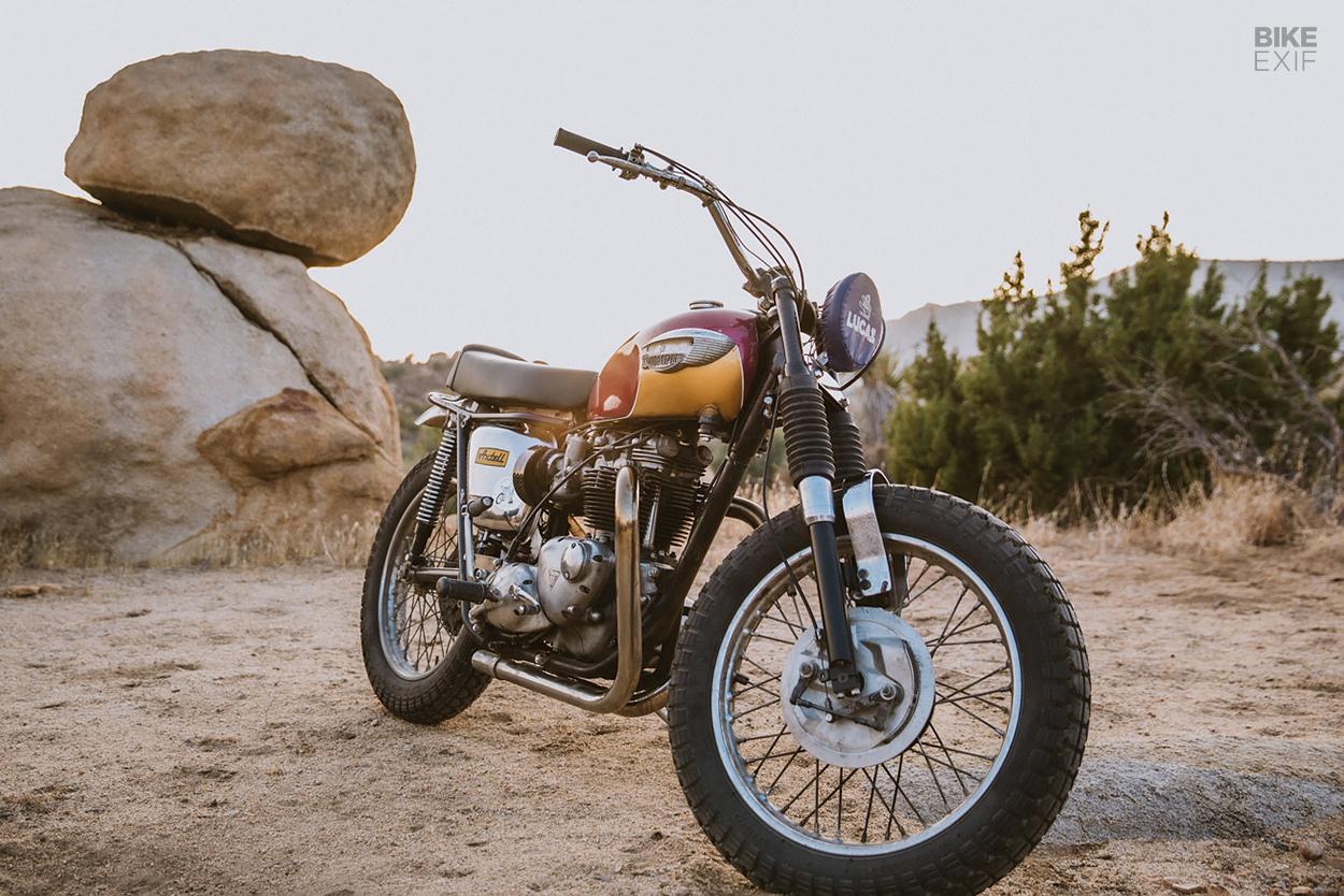 Triumph Bonneville TT special by Hello Engine