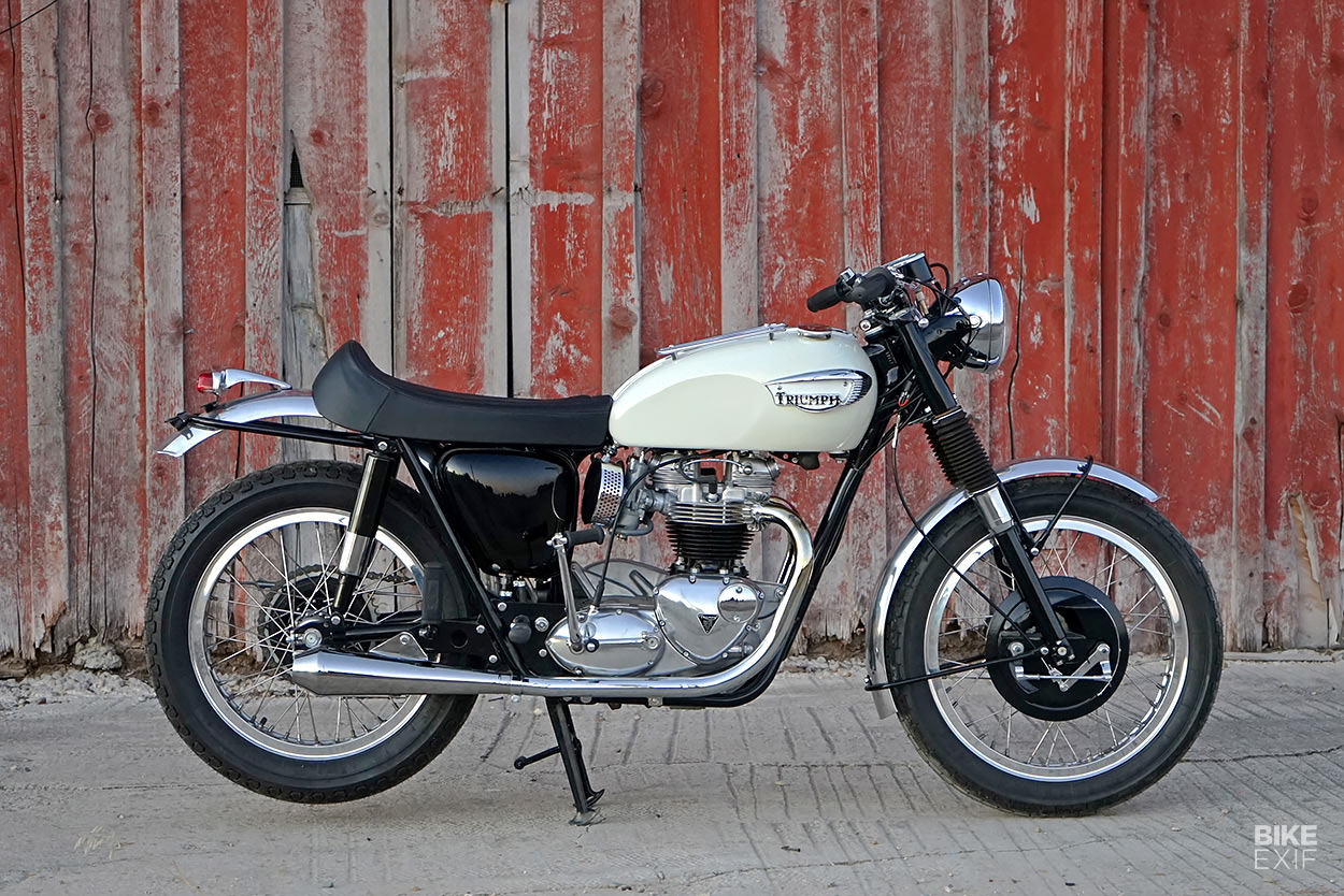 Win a motorcycle: This classic Triumph Bonneville is being raffled off for charity
