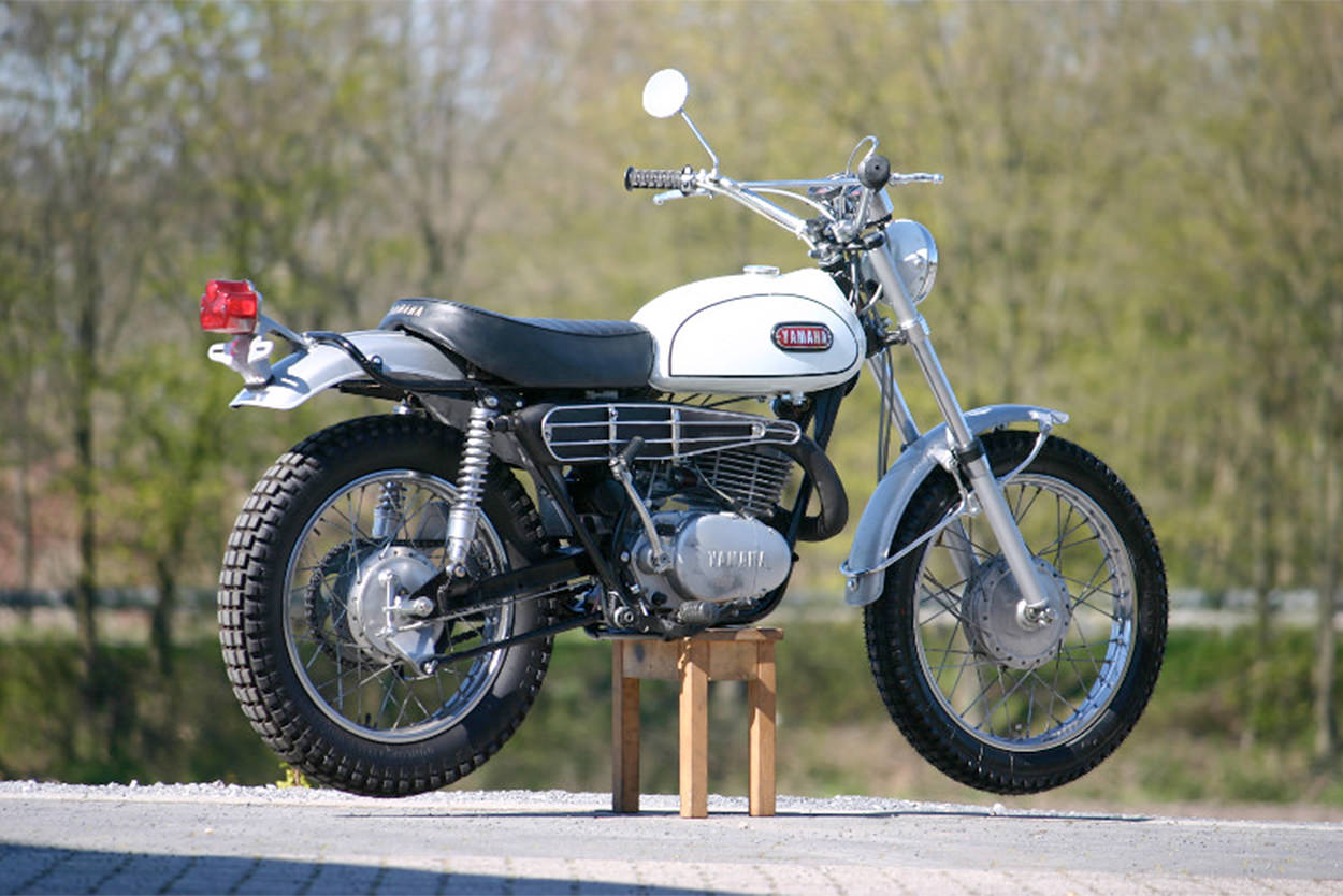 Yamaha DT-1 restoration by Peter Abelmann