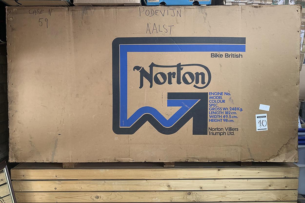 Crated 1977 Norton Commando