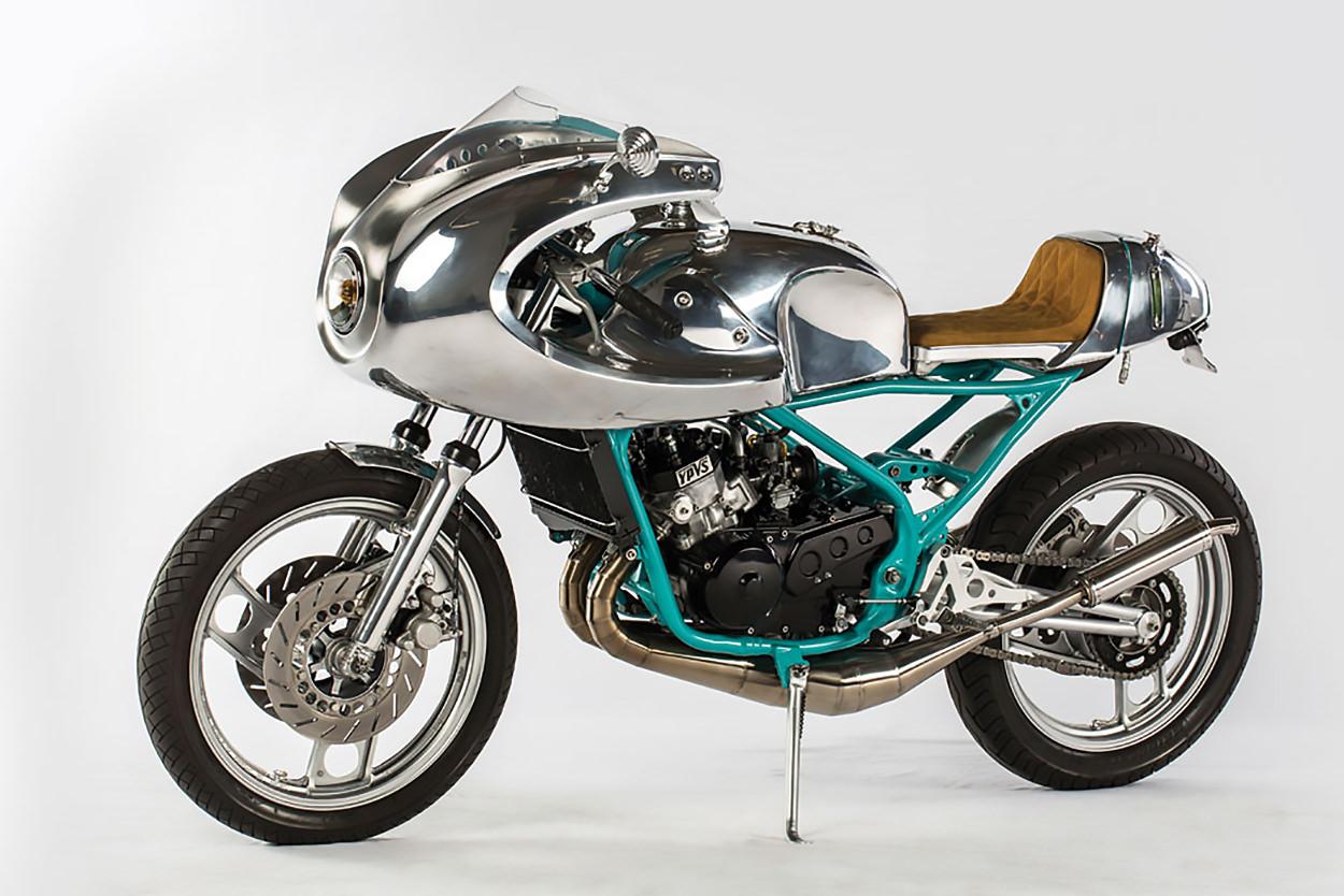 Yamaha RD350 cafe racer by Blechmann