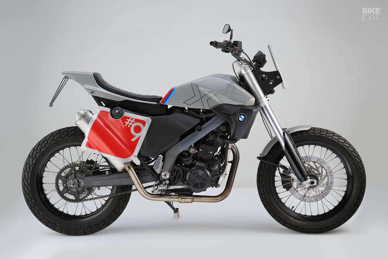 BMW G650 Xcountry street tracker by Cafemoto