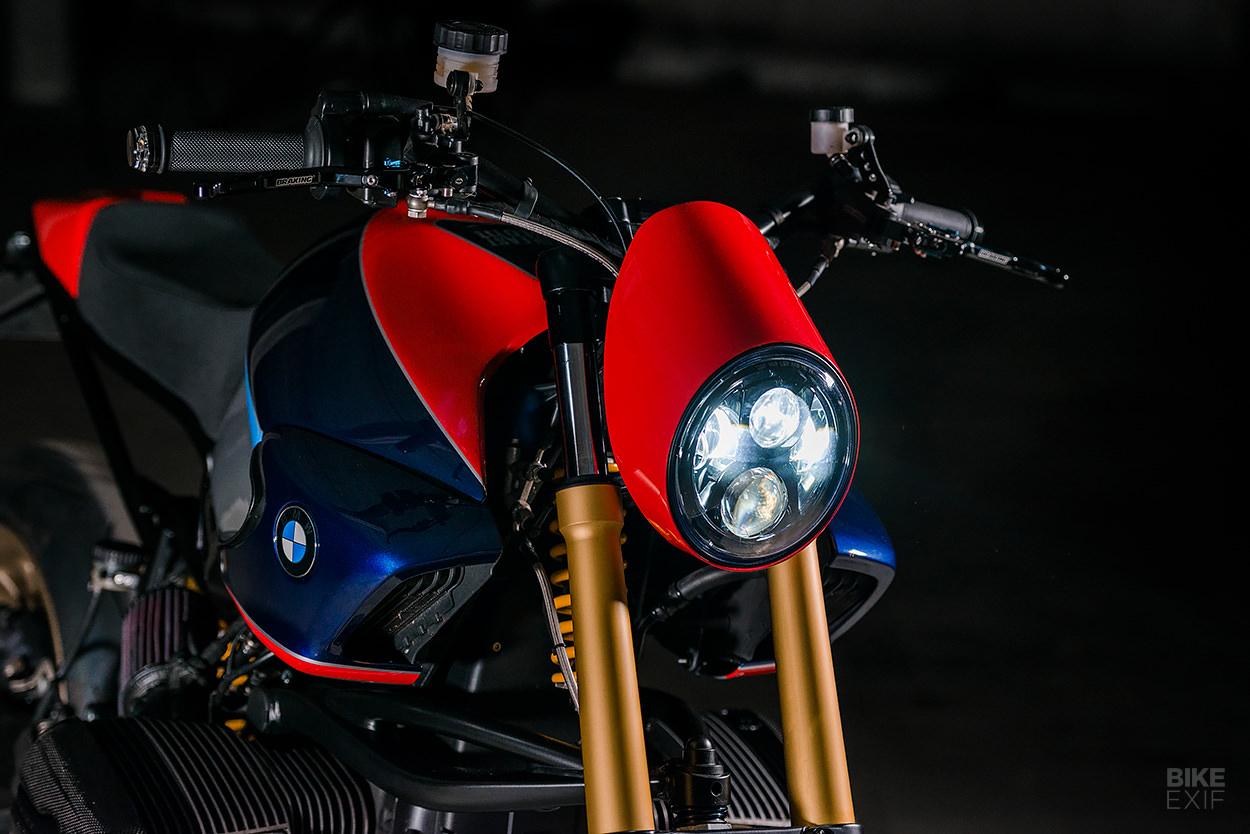BMW R1150R Rockster from North East Custom