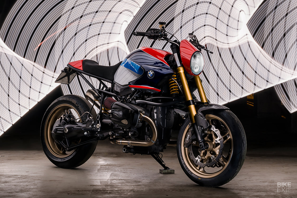BMW R1150R Rockster from North East Custom