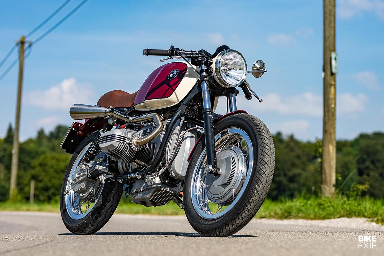 BMW R80 RT custom by Moto Essence