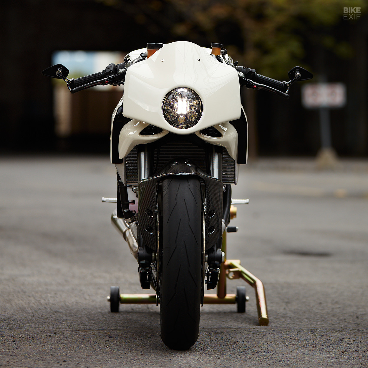 Custom Ducati 899 Panigale cafe racer by Mr Motorcycles