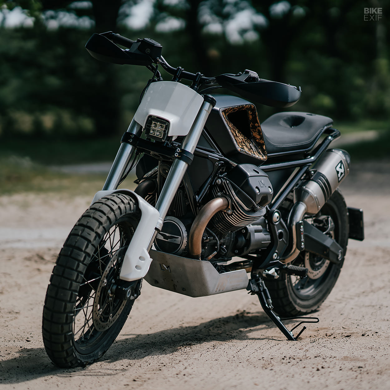 Custom Moto Guzzi V85 TT by Luuc Muis for Vanguard Clothing