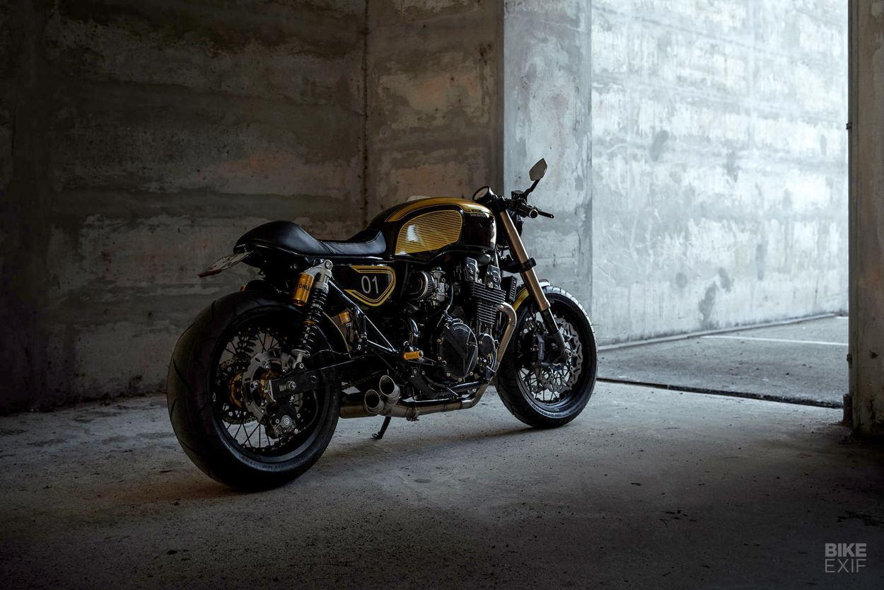 Honda CB 750 Seven-Fifty cafe racer by Unik Edition