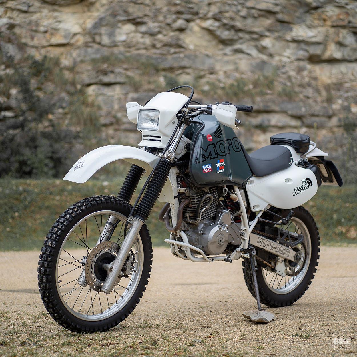 Honda XR650L restomod by Sea of Rocks