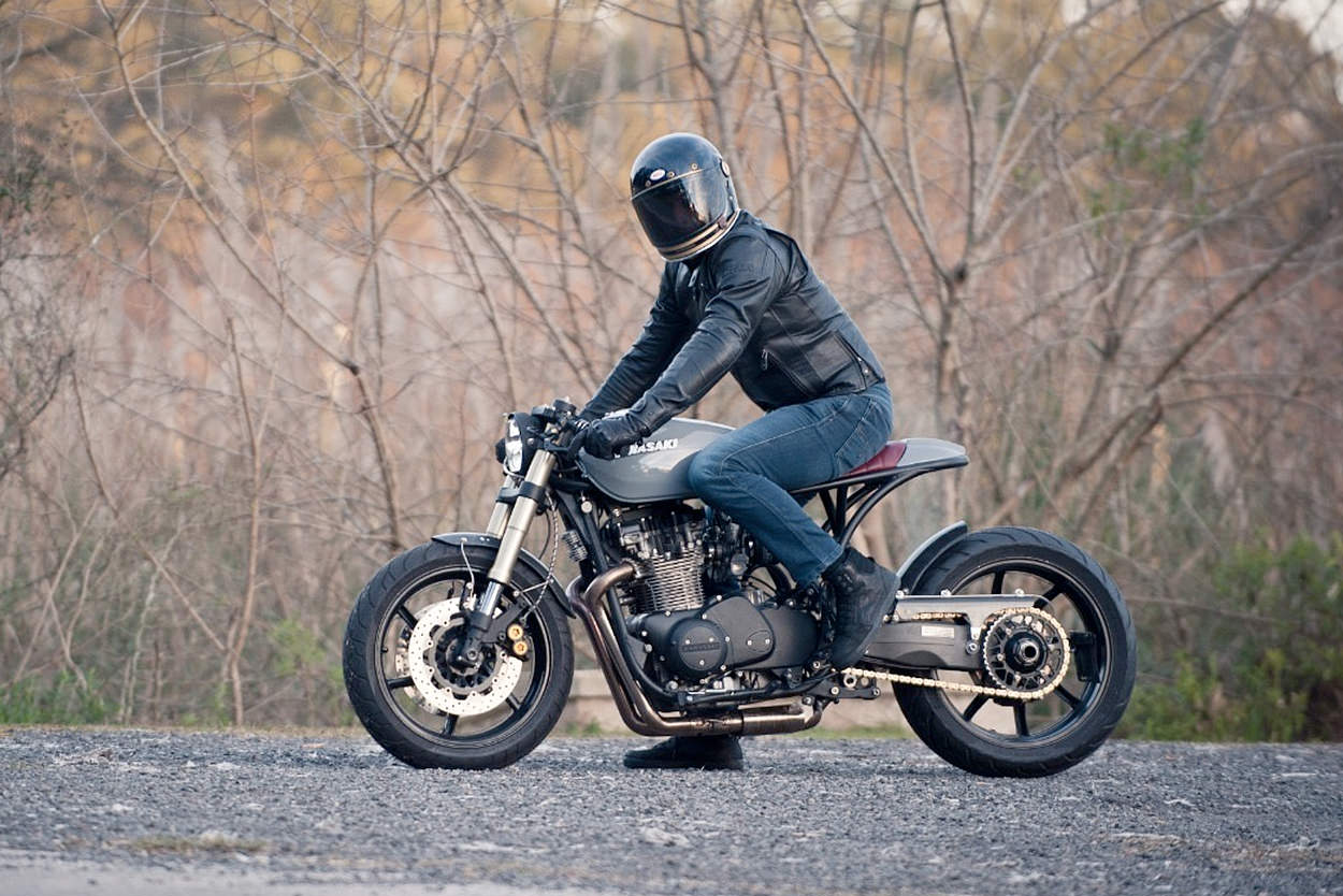 Kawasaki KZ750 by STG Tracker