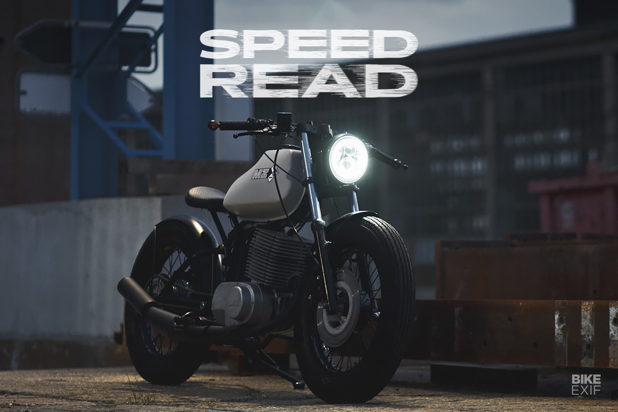 The latest motorcycle news, custom bikes and gear