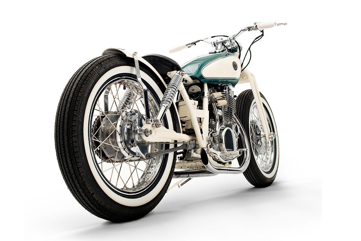 Yamaha SR500 by Black Lanes Motor