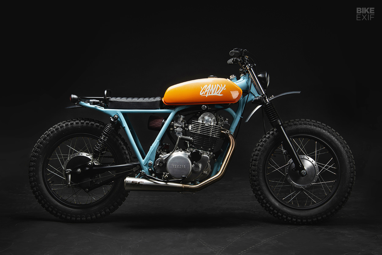 Yamaha Sr500 street tracker by 6/5/4 Motors