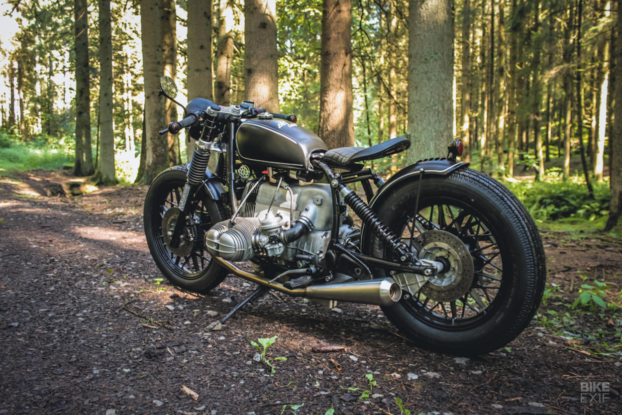 BMW R100 CS bobber by Woidwerk