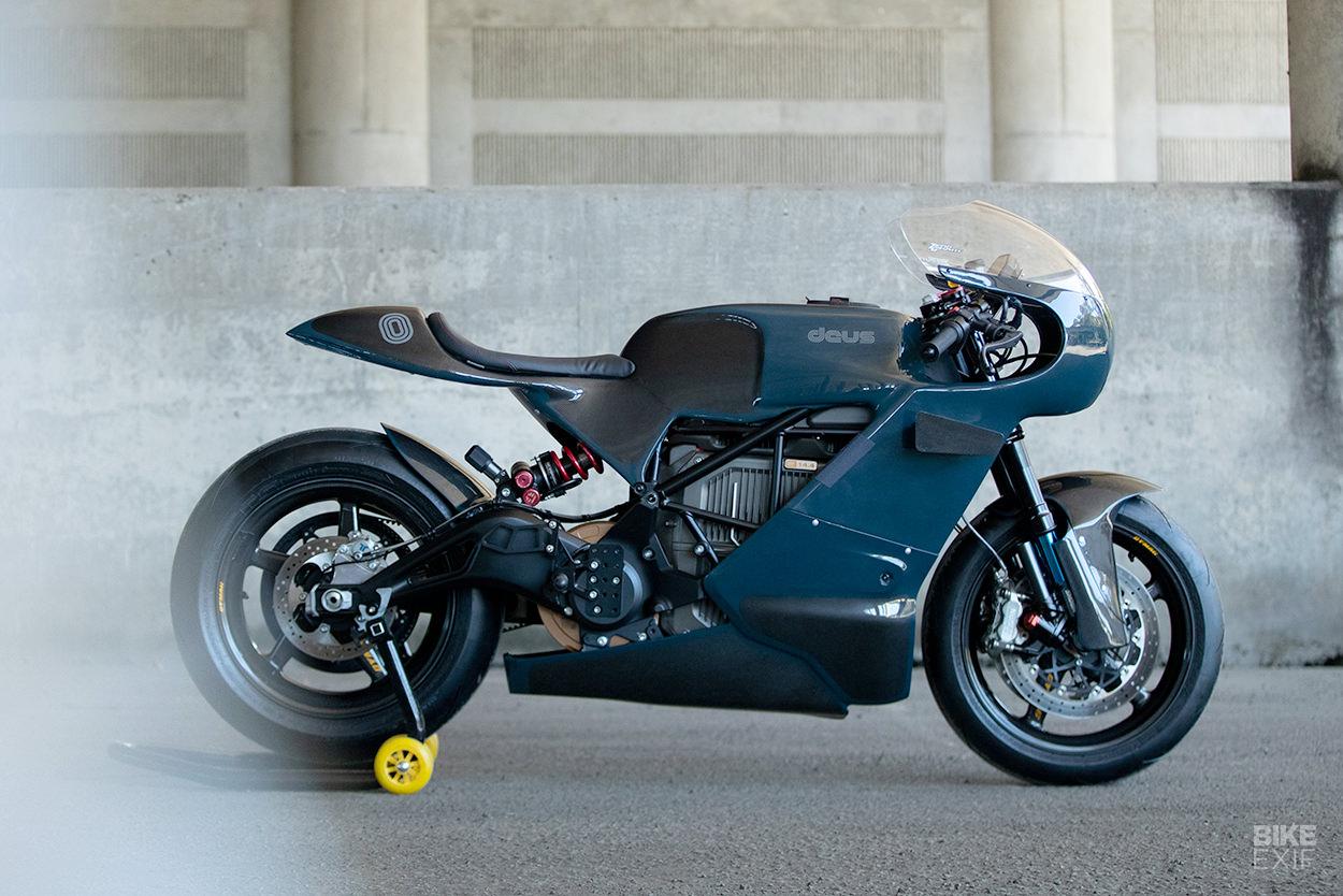 Custom Zero SR/S electric sportbike