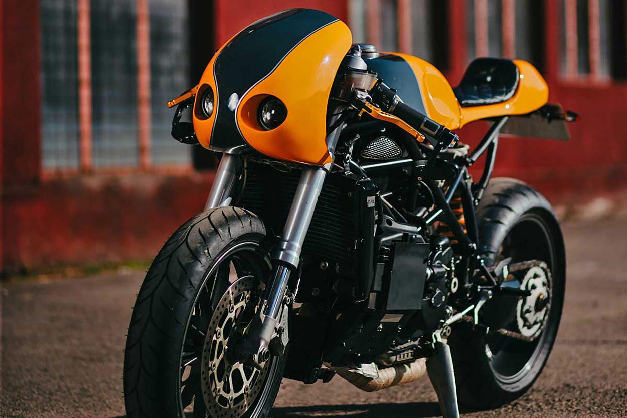Ducati 749 custom by Dan Iluta