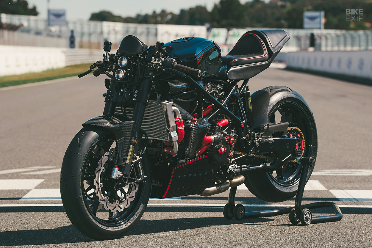 Ducati 999 cafe racer by Freeride Motos