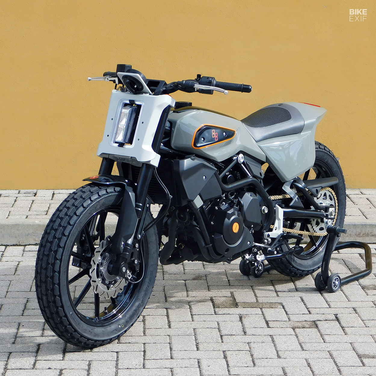 XR338 street tracker concept by Engines Engineering