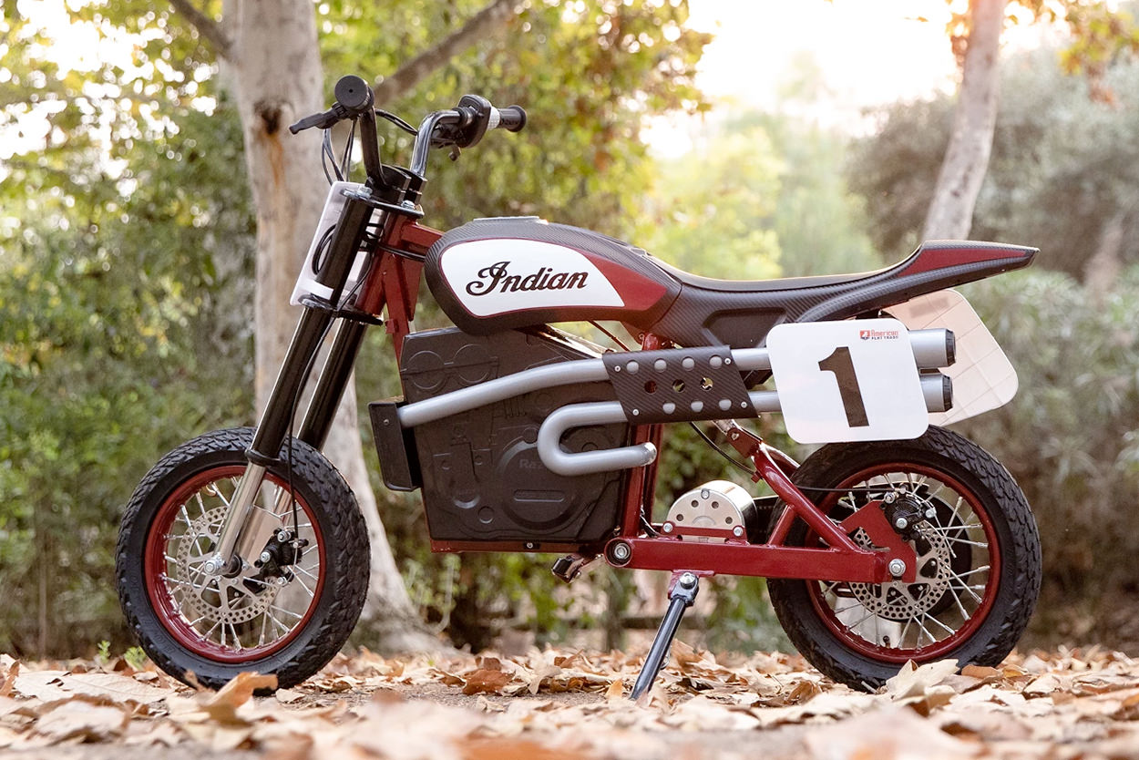 Indian eFTR Jr electric bike